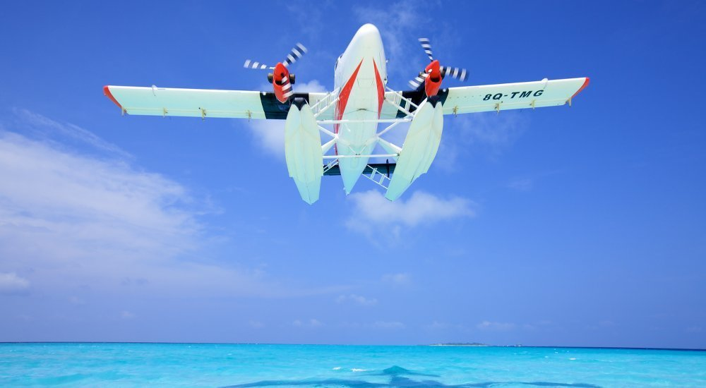 Helis or Sea Planes - Luxury Surfing Holidays with Wave Guarantee   LUEX