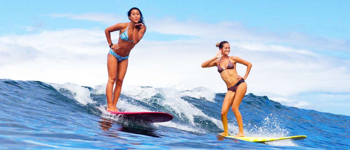 surfer girl Surfing
