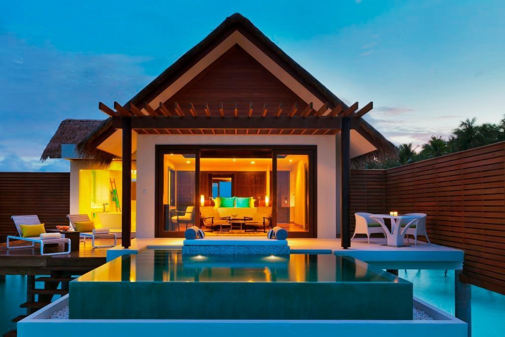 Niyama's private pools and villas are perfect for romantic evenings