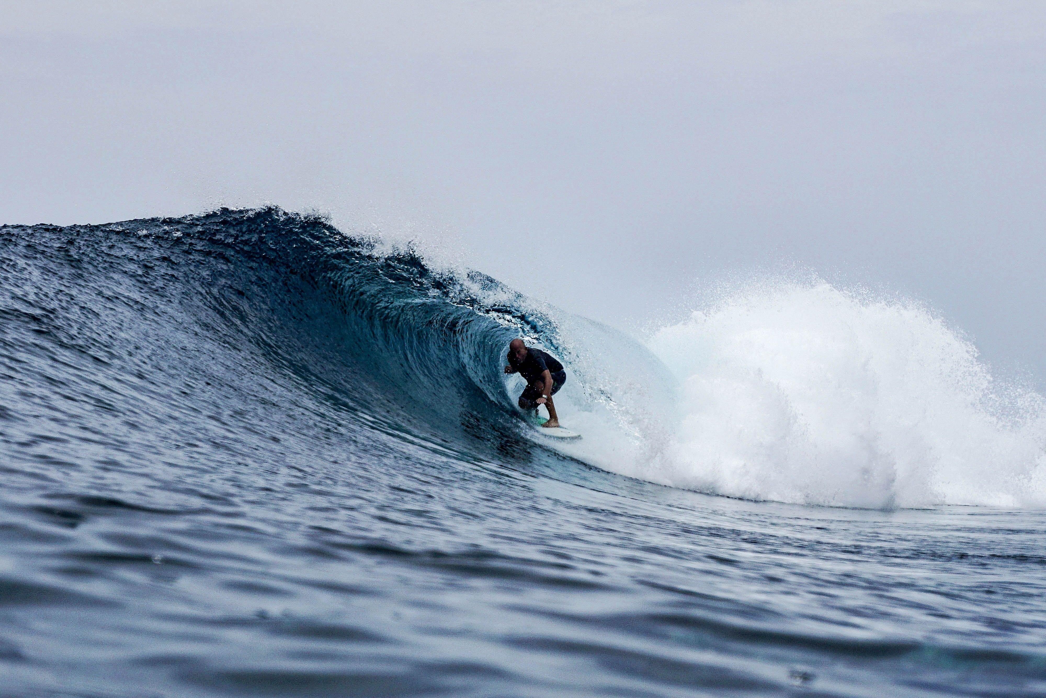 Simeulue Island Surfspot: Dylan's righthander reefbreak