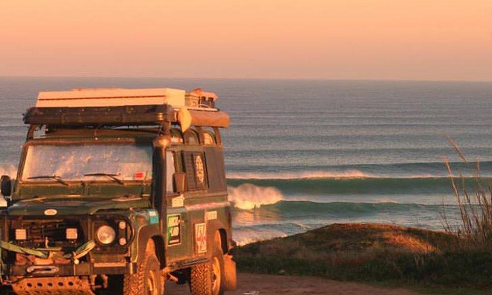 Surf check in Peniche