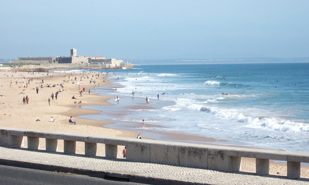 Surf perfect waves just 20 minutes from Lisbon's center.