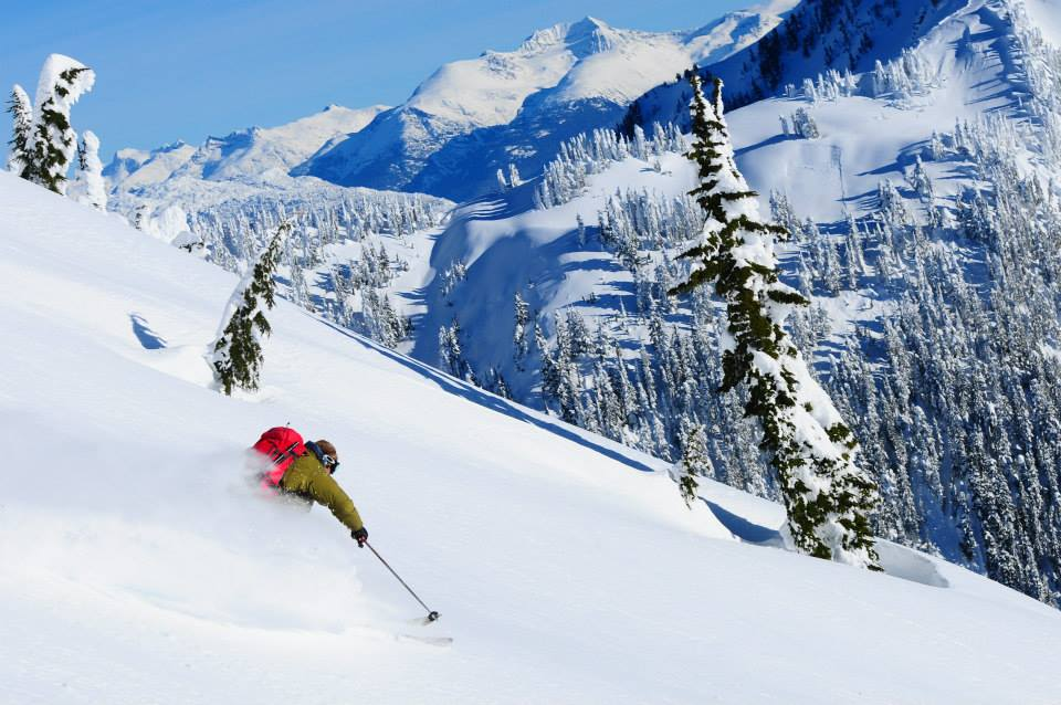 So many perfect powder days around Whistler. Photo: Powder Moutain