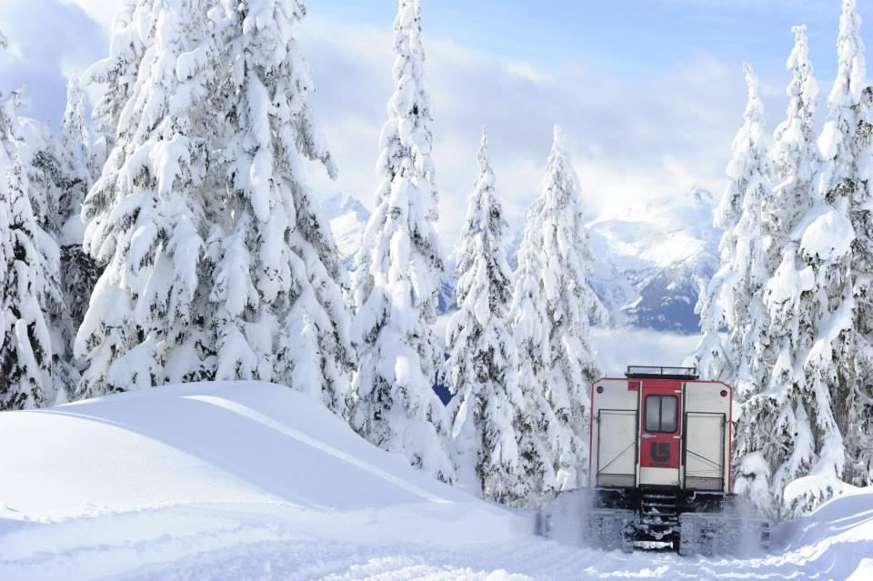 Go far from the crowds by Catski! Photo: Powder Mountain