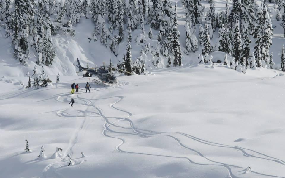 Powder Moutain Heliskiing in Whistler