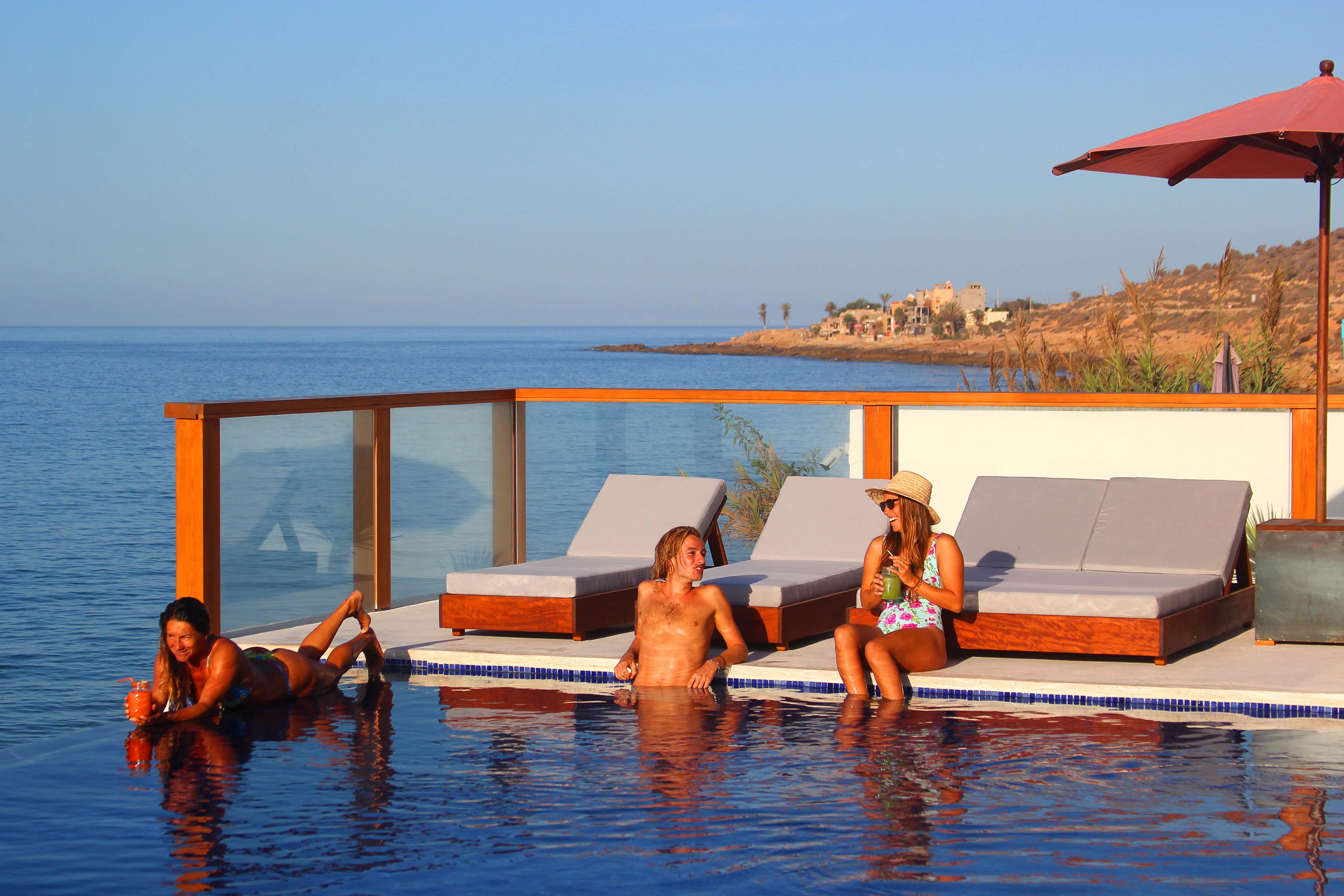 Amouage infinity pool morocco