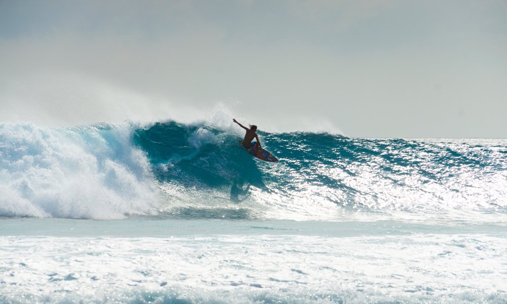 Jackson Coffey rippin at Vodi surf spot