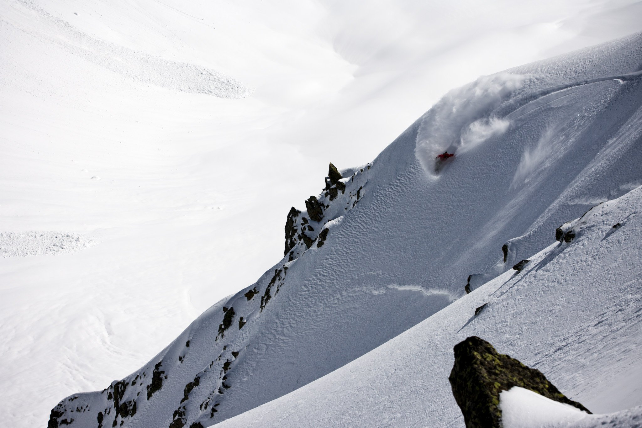 splitboarding in chamonix with stentiford