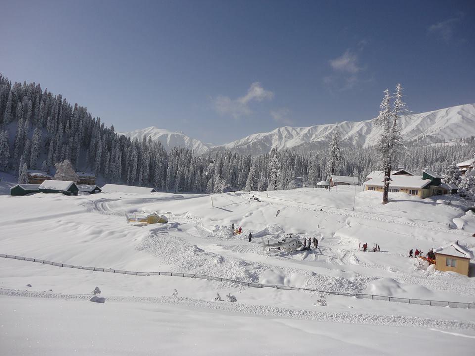 Heliski in Kashmir's backcountry