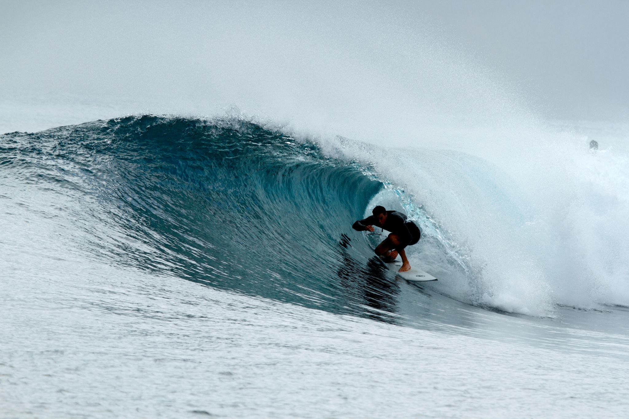 Get barreled in front of your door