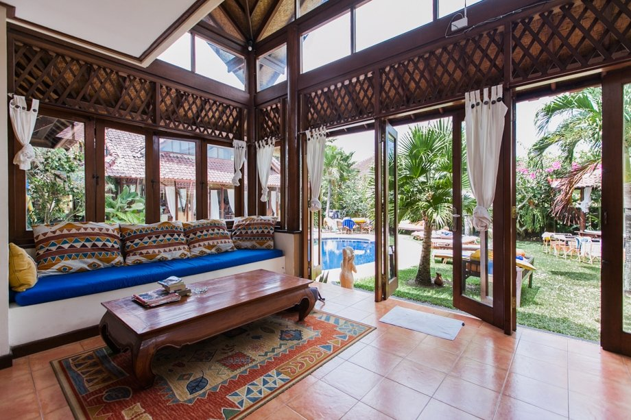 Balicamp livingroom in Canggu