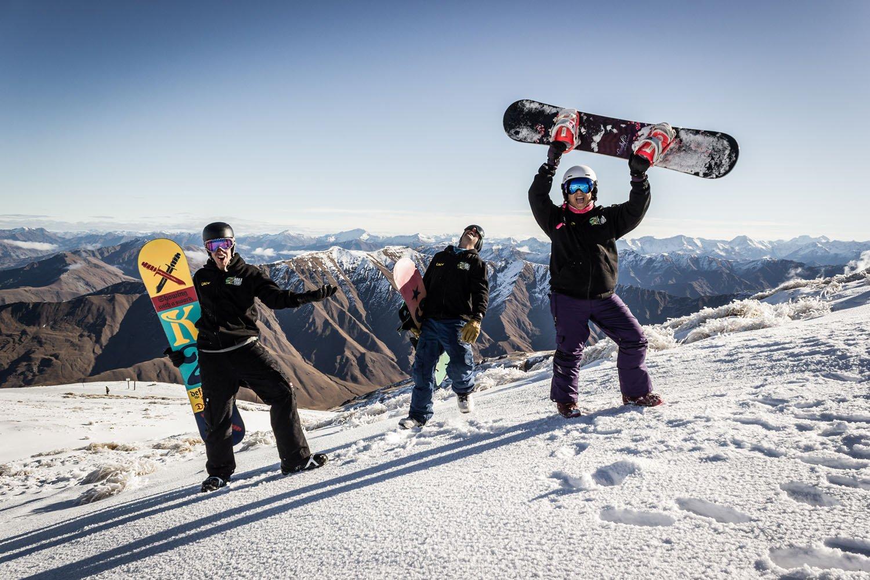 Snowboarding in NZ