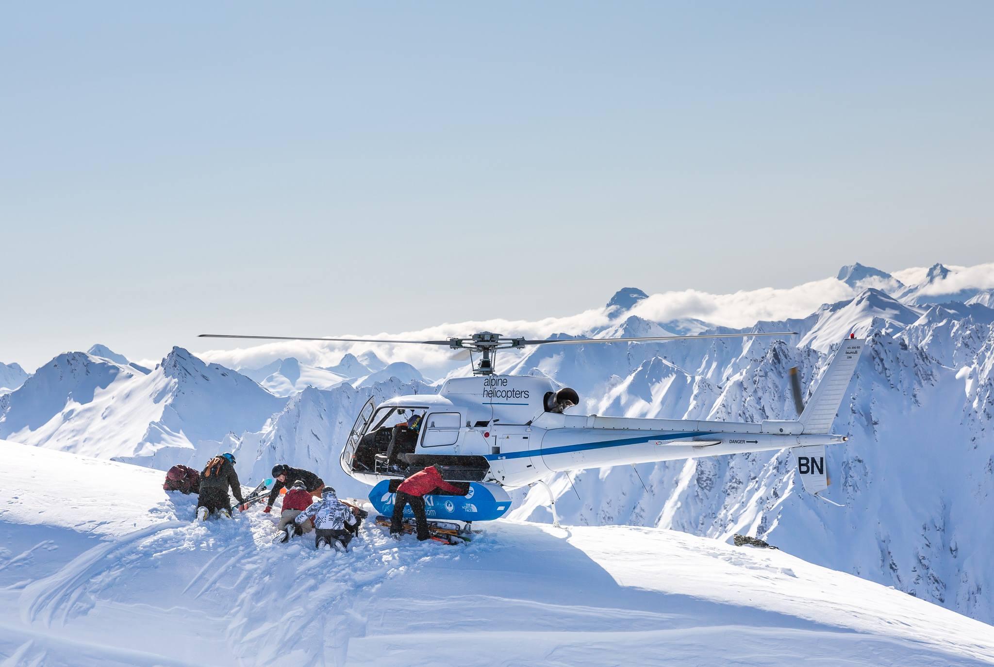 Ski the south island in New Zealand