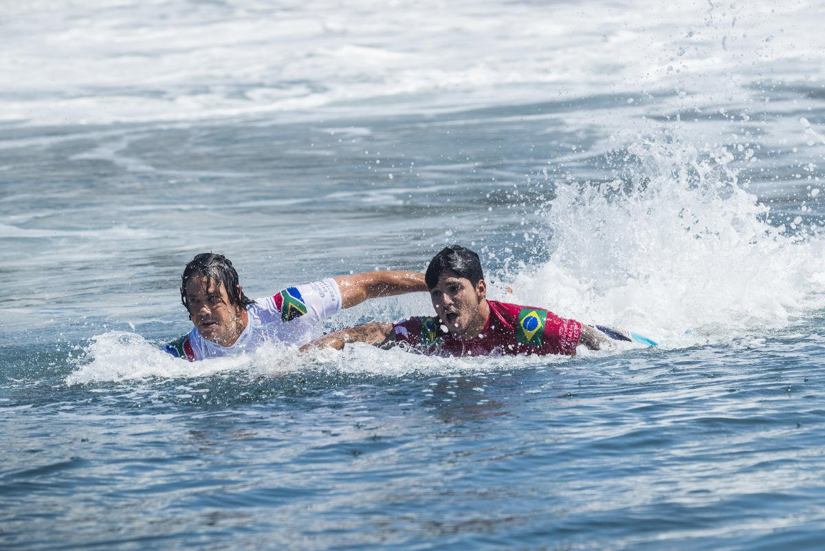 Jordy Smith vs Gabriel Medina