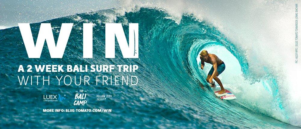 Win a bali surf trip