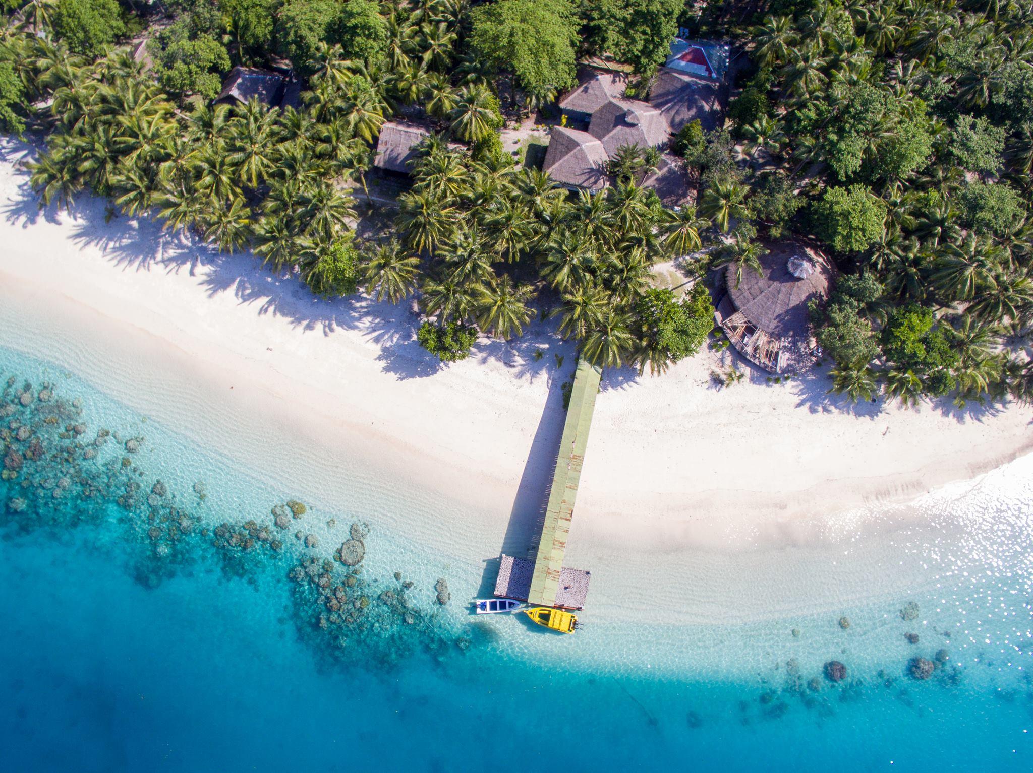 Mentawai island by drone