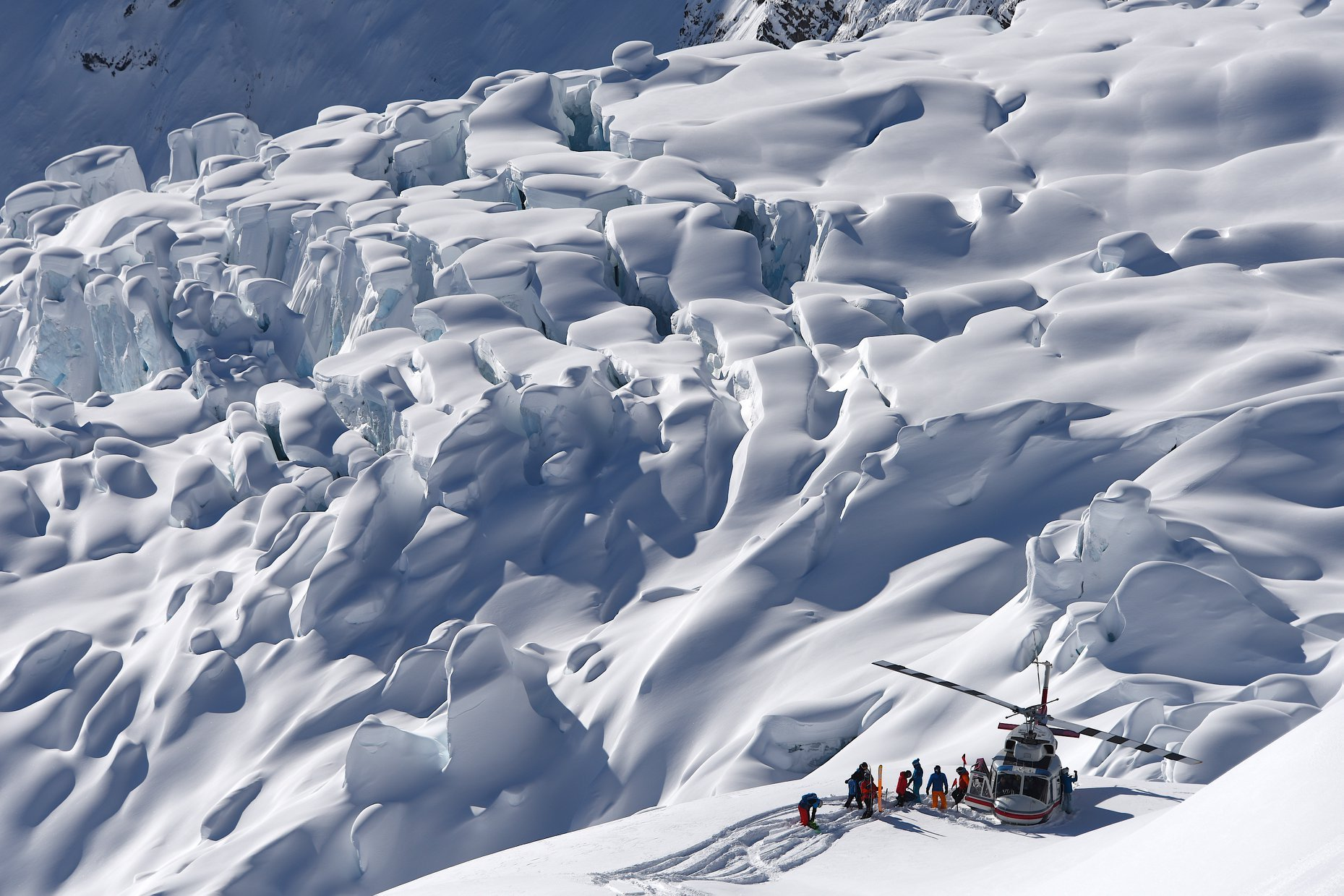 Heli skiing in Canada's backcountry