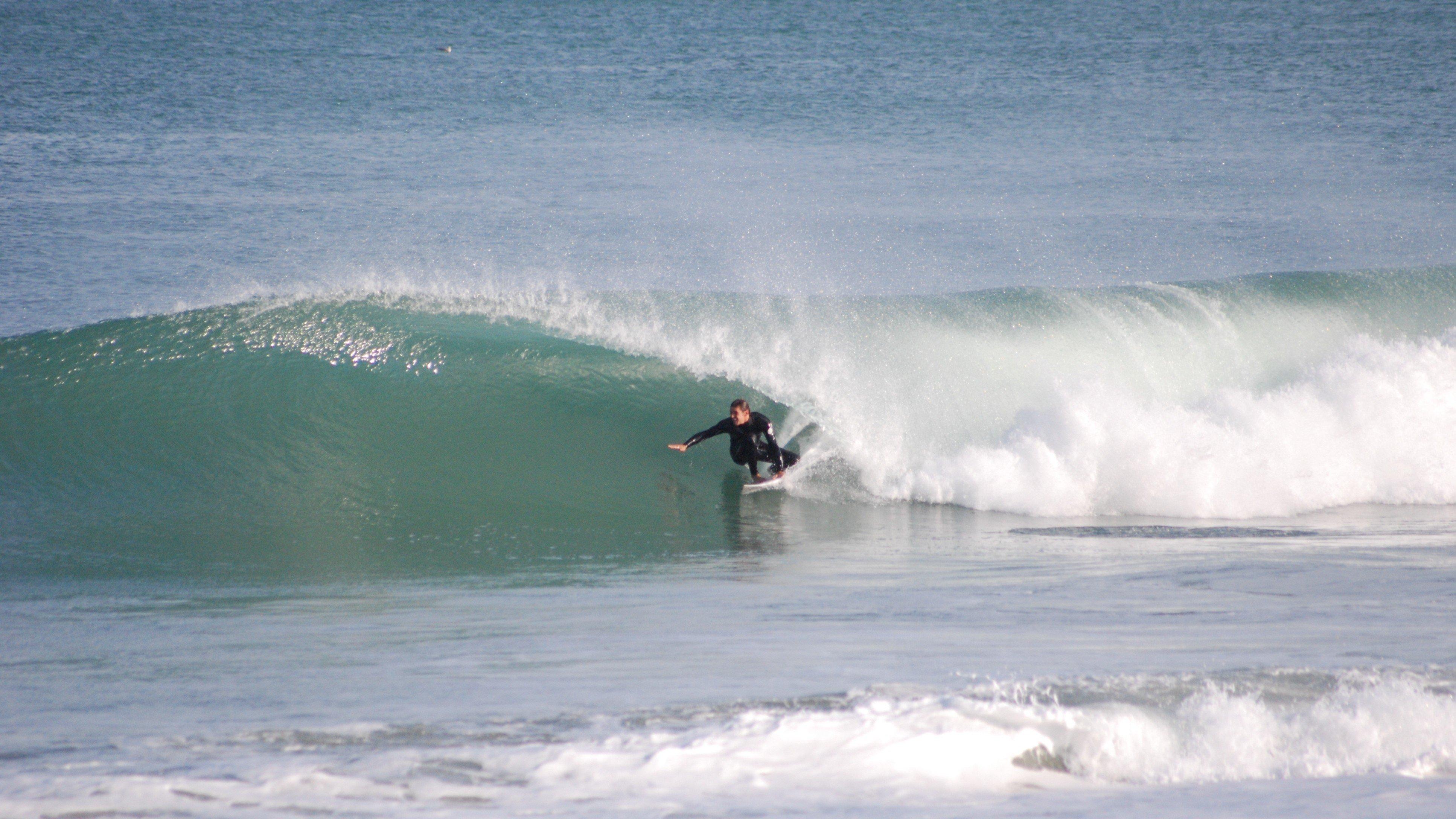 Surfing France's beach breaks