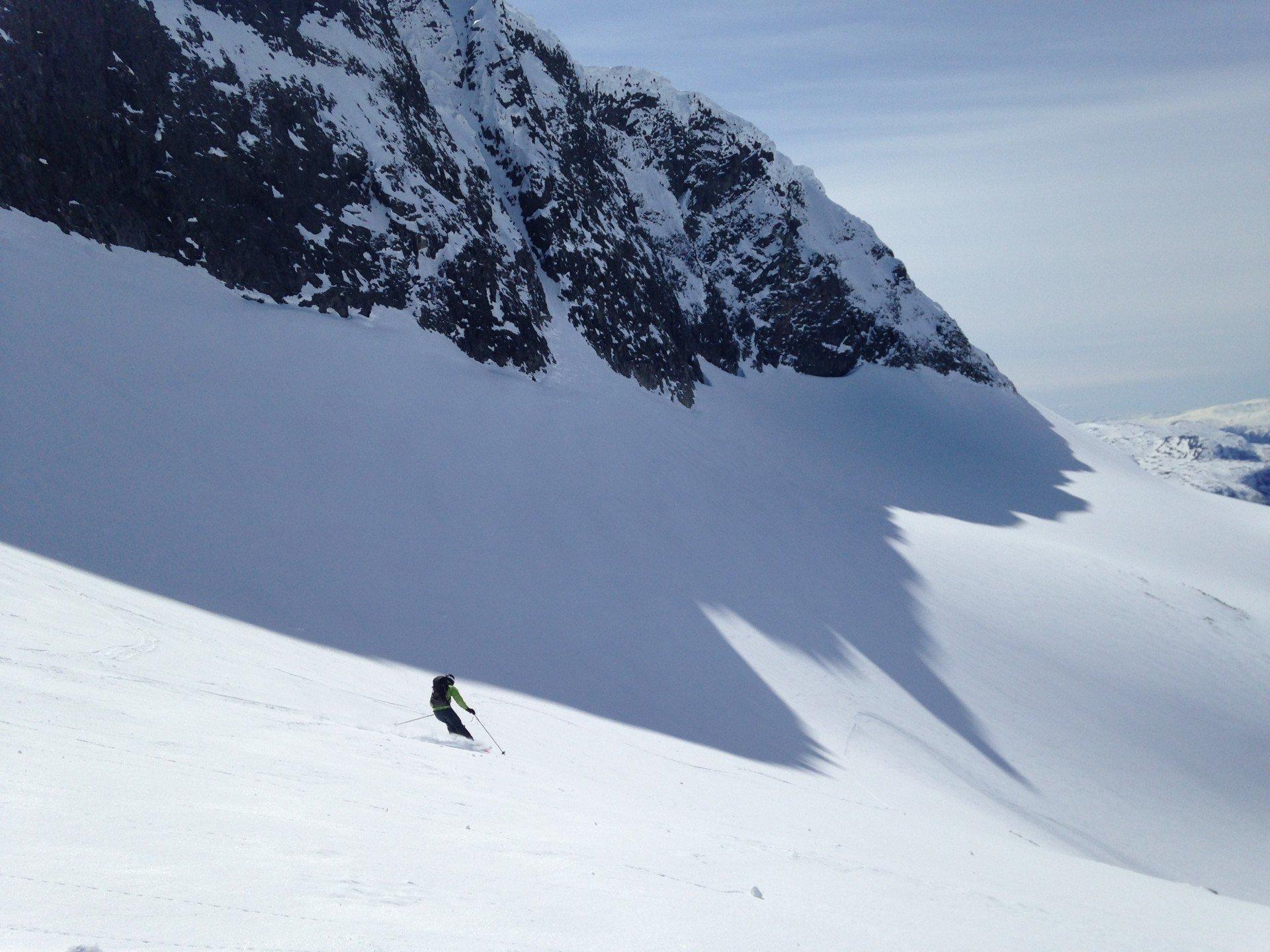 Jotunheimen skiing area in Norway