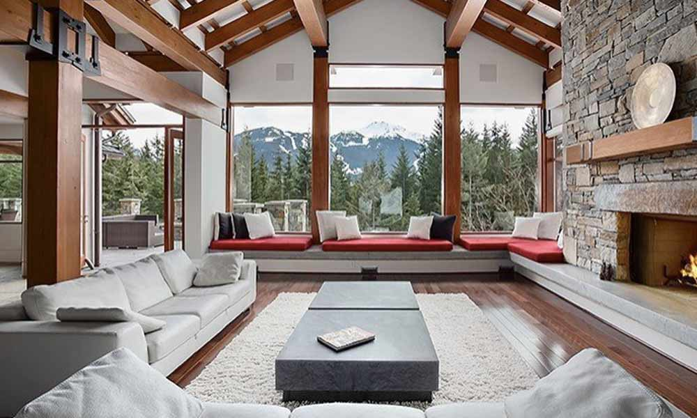 Luxury lodge in Whistler