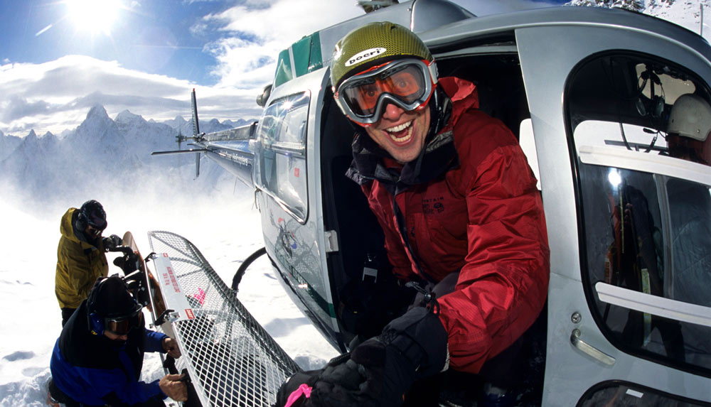 Heliskiing with Bella Coola in Canada
