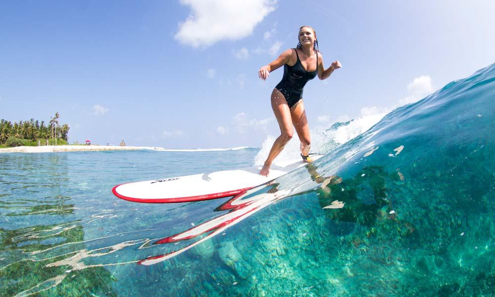Longboarder girl