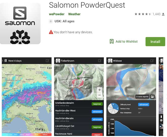 salomon powder