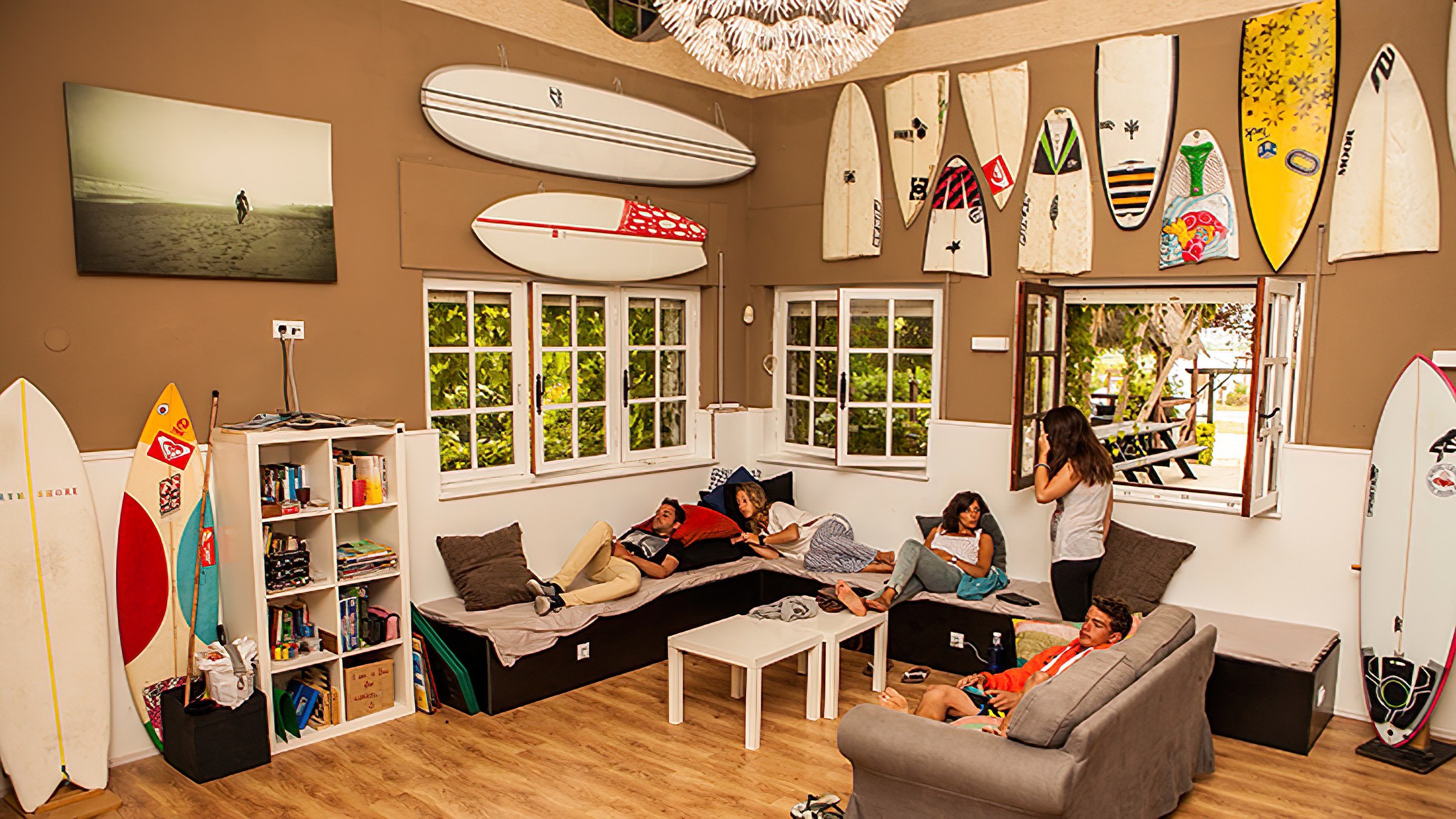 latas surf house and camp in somo cantabria | luex
