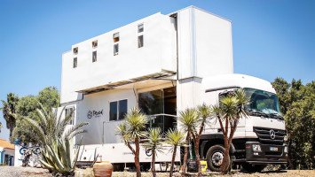Truck Surf Hotel Morocco