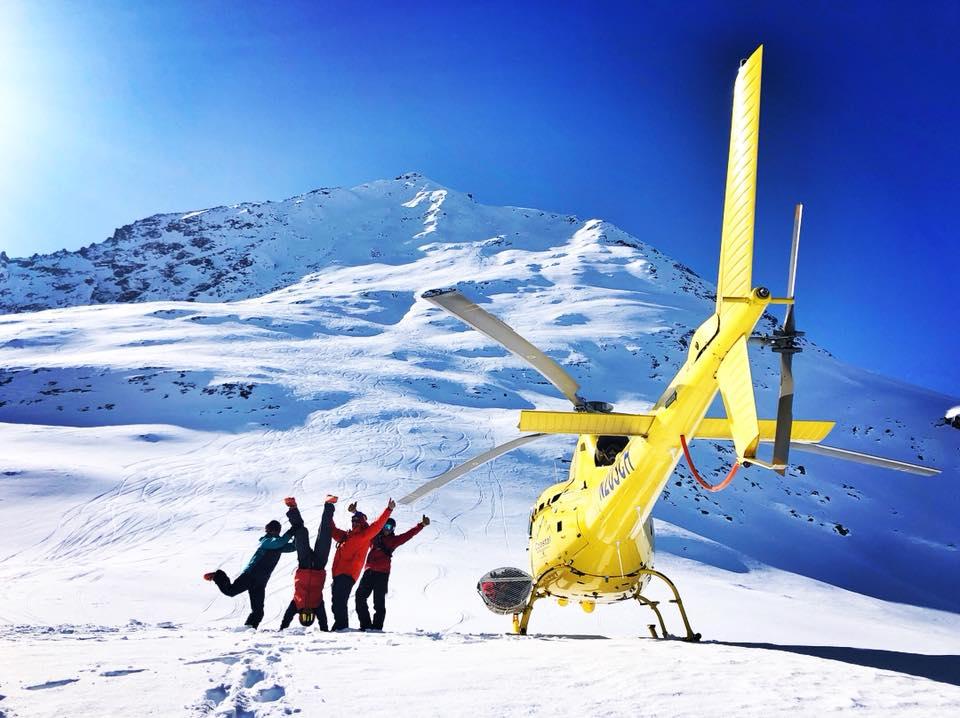 Family @ Alaska Rendezvous Heli-Guides