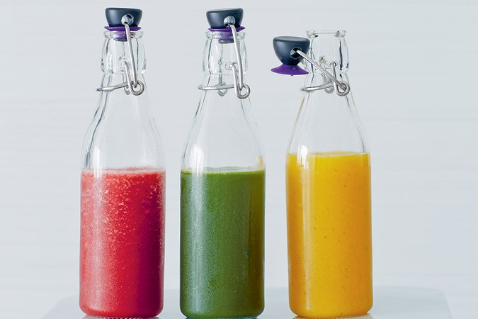 Glow juice bar